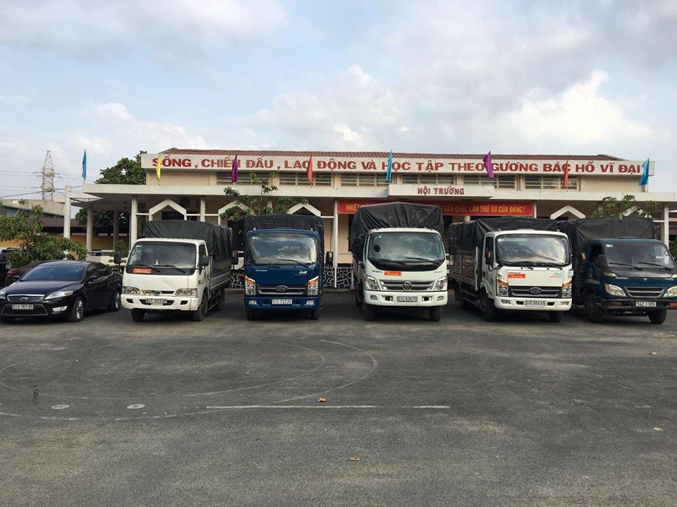 Nhận chở hàng thuê giá rẻ tại TPHCM