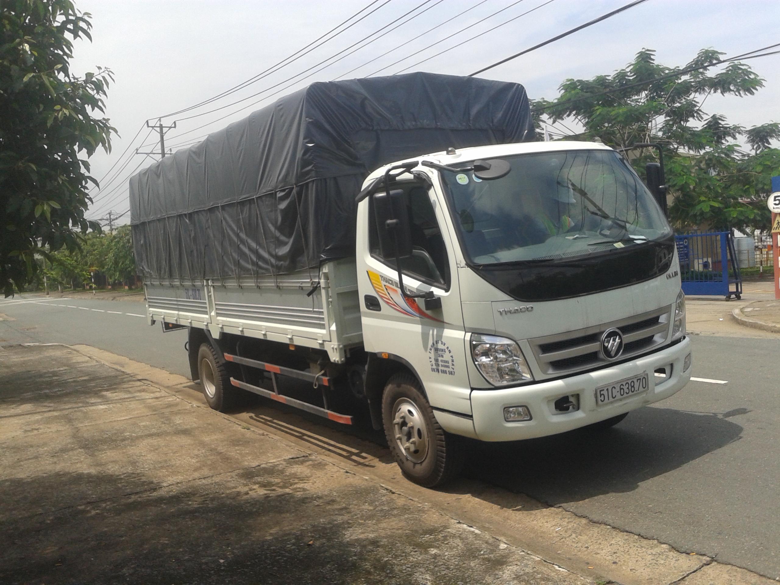 Cho thuê xe tải 5 tấn chở hàng giá rẻ