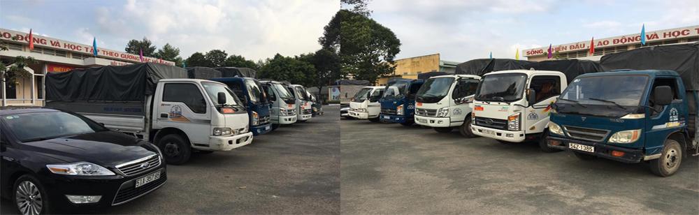 Thuê xe tải 5 tấn chở hàng giá rẻ