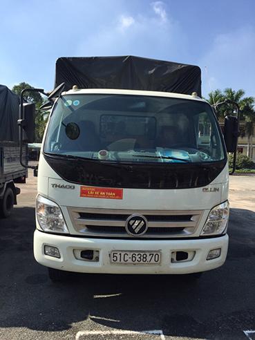 Cho thuê xe tải 5 tấn chở hàng giá rẻ tại TPHCM