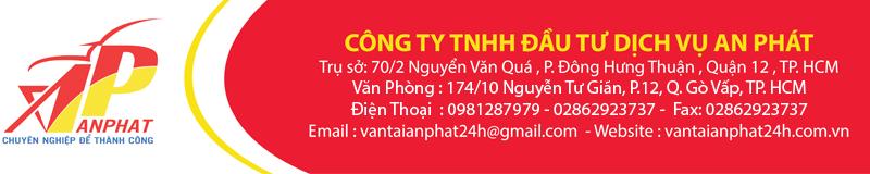 Vận tải An hàng hóa tại TP HCM