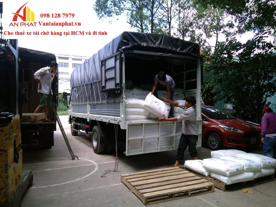 Cho thuê xe tải chở hang tại TP.HCM 0981287979